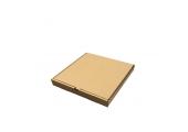 Бурая коробка для пиццы N2