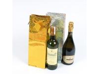 Набор пакетов подарочных для бутылок №2
