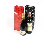 Набор пакетов подарочных для бутылок №1