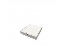 Белая коробка для пиццы N1б