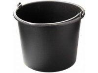 Ведро чёрное 20 литров с ручкой