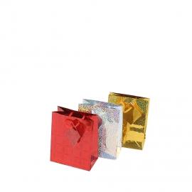 Пакет подарочный маленький 3 штуки