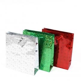 Пакет подарочный средний 5 штук