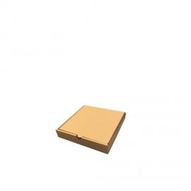 Бурая коробка для пиццы N1