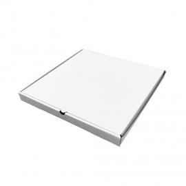 Белая коробка для пиццы N3б