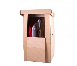 Гардеробная коробка из картона