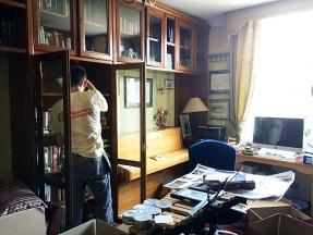Переезд дорогой мебели и библиотеки