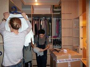 Переезд гардероба
